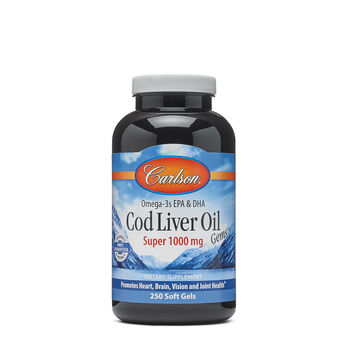 Cod Liver Oil Gems™ - Super 1000 mg | GNC
