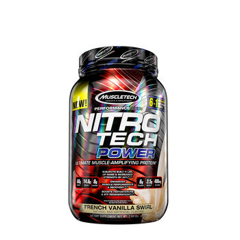 Nitro-Tech® POWER - French Vanilla SwirlFrench Vanilla Swirl | GNC