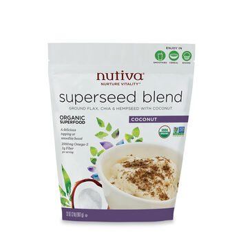 Organic Superseed Blend- Coconut | GNC