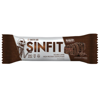 SIN FIT® Double Layer High Protein Crunch Bar - Chocolate CrunchChocolate Crunch | GNC