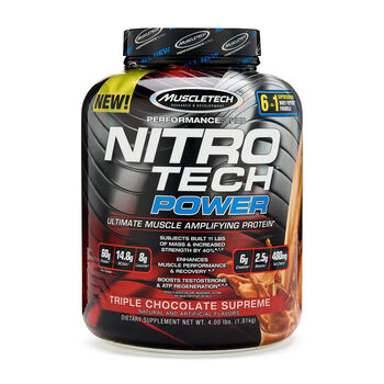 Nitro-Tech™ Power - Triple Chocolate SupremeTriple Chocolate Supreme | GNC