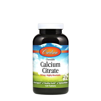 Chewable Calcium Citrate 250 mg | GNC