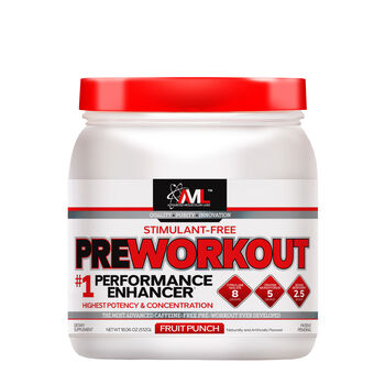 Stimulant-Free Preworkout - Fruit Punch | GNC