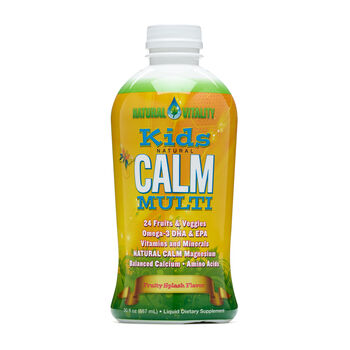 Kids Natural Calm Multi - Fruity Splash   GNC