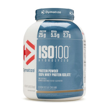 ISO•100® - Cookies and CreamCookies and Cream   GNC