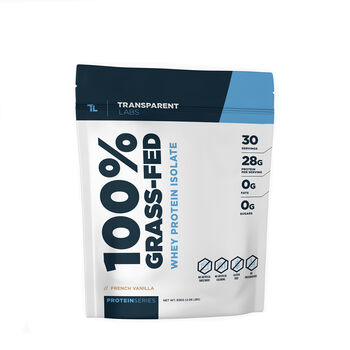 100% Grass-Fed Whey Protein Isolate - French VanillaFrench Vanilla | GNC