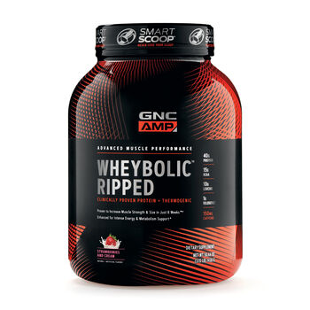 Wheybolic™ Ripped - Strawberries and CreamStrawberries and Cream | GNC