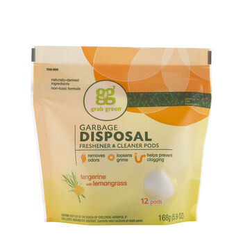 Garbage Disposal Freshener & Cleaner Pods - Tangerine with LemongrassTangerine with Lemongrass   GNC