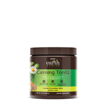 Calming TonIQ - Lemon Cucumber Mint | GNC