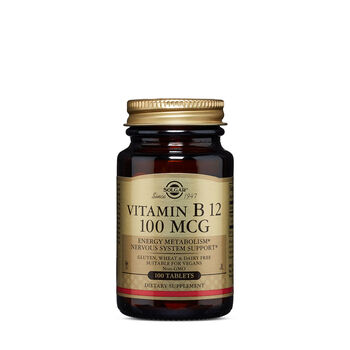 Vitamin B12 100 MCG | GNC