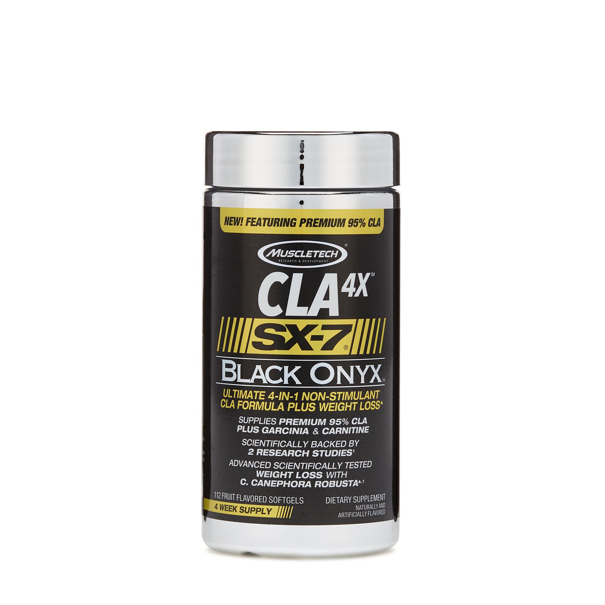 MuscleTech® CLA 4X™ SX-7® Black Onyx™