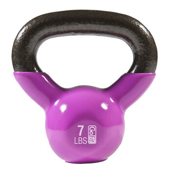 Premium Kettle Bell W/ Introductory Training DVD - 7 LB Magenta7 lb - Magenta | GNC