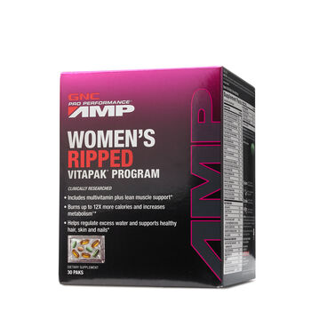 Gnc Pro Performance Amp Womens Ripped Vitapak Program Gnc