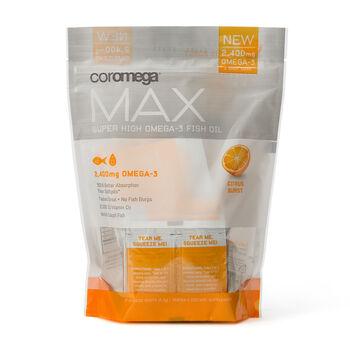 Max Super High Omega-3 Fish Oil - Citrus Burst   GNC