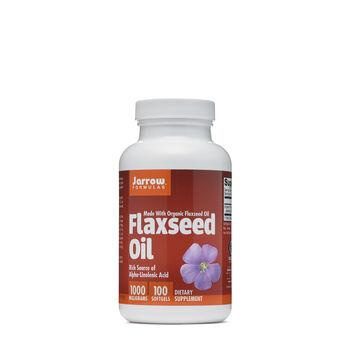 Flaxseed Oil 1000 mg | GNC