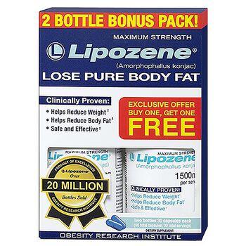 Lipozene® (Amorphophallus konjac ) - 2 Bottle Bonus Pack | GNC