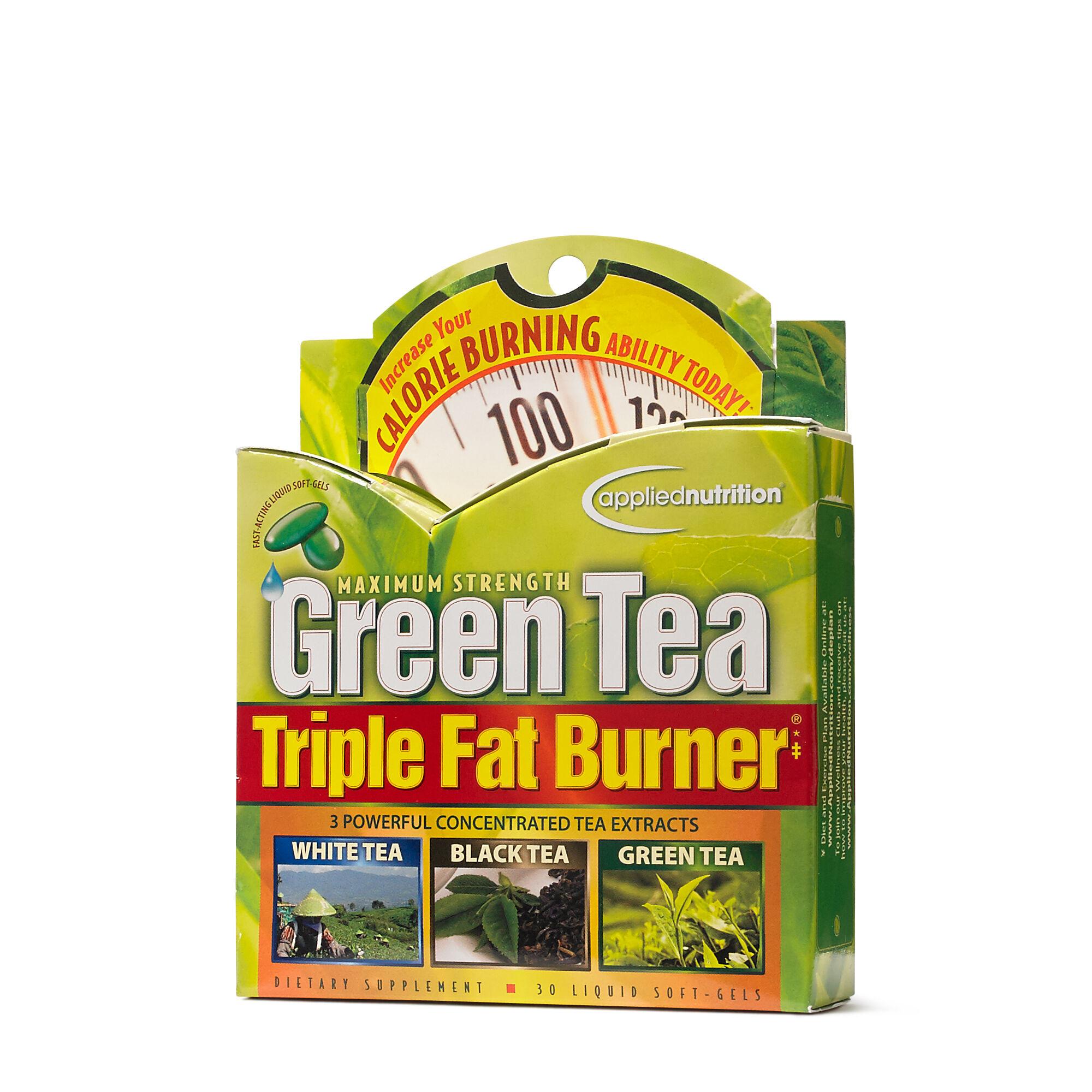 Green tea fat burning dietary supplement
