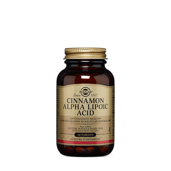 Cinnamon Alpha Lipoic Acid | GNC