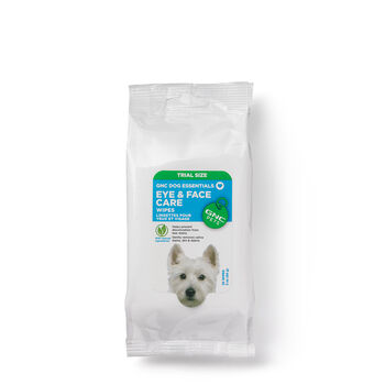 Dog Essentials Eye and Face Care Wipes for Dogs - TRIAL SIZE | GNC