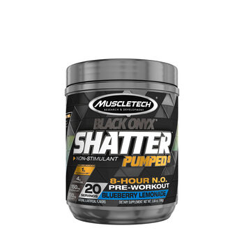 Shatter Pumped 8™ Black Onyx® - Blueberry LemonadeBlueberry Lemonade | GNC