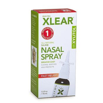 Xlear® Nasal Spray Fast Relief | GNC