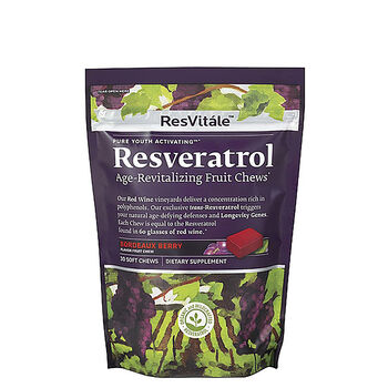 Resveratrol Age-Revitalizing Fruit Chews | GNC
