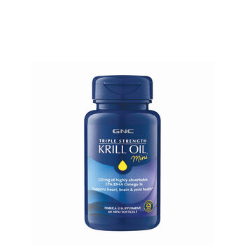 Triple Strength Krill Oil Mini | GNC