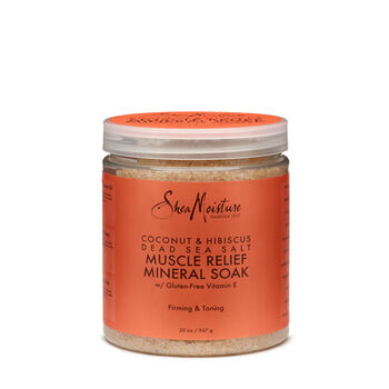 Coconut & Hibiscus Dead Sea Salt Muscle Relief Mineral Soak   GNC