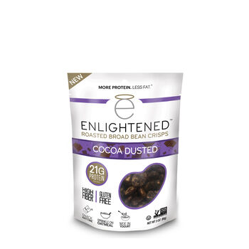 Roasted Broad Bean Crisps - Cocoa DustedCocoa Dusted | GNC