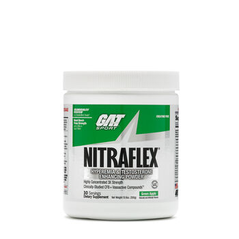 NITRAFLEX™ Hyperemia & Testosterone Enhancing Pwd - Green AppleGreen Apple   GNC