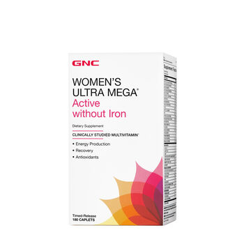 Women's Ultra Mega® Active without Iron | GNC