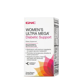 Women's Ultra Mega ® Diabetic Support | GNC