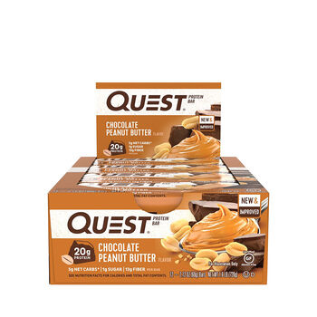 Quest Bar – Chocolate Peanut ButterChocolate Peanut Butter | GNC