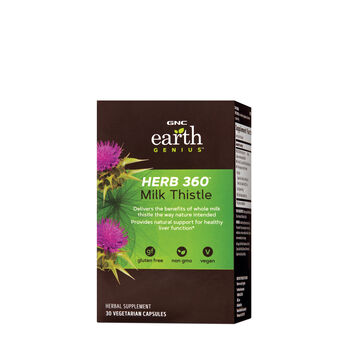 HERB 360™ Milk Thistle | GNC