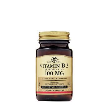 Vitamin B2 (Riboflavin) 100 mg | GNC