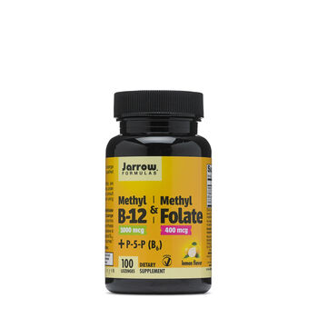 Methyl B-12 & Methyl Folate - Lemon | GNC