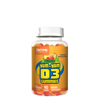 Yum-Yum D3 Gummies - Orange, Lemon and Strawberry | GNC