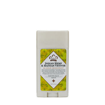 Indian Hemp & Haitian Vetiver 24 Hour Deodorant | GNC