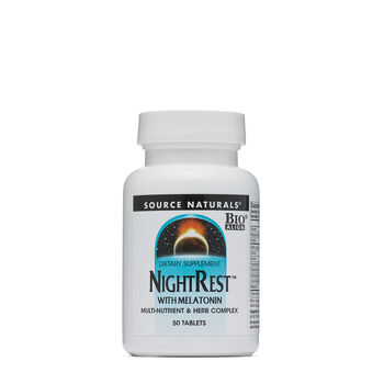 NightRest with Melatonin | GNC