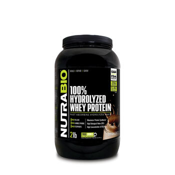100% Hydrolyzed Whey Protein - Dutch ChocolateDutch Chocolate | GNC