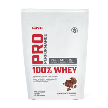 100% Whey - Chocolate SupremeChocolate Supreme | GNC
