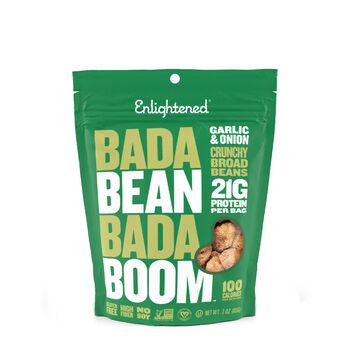 Bada Bean Bada Boom Crunchy Broad Beans - Garlic and OnionGarlic and Onion | GNC