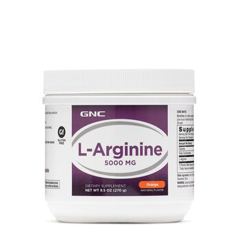 L-Arginine 5000mg - Orange | GNC