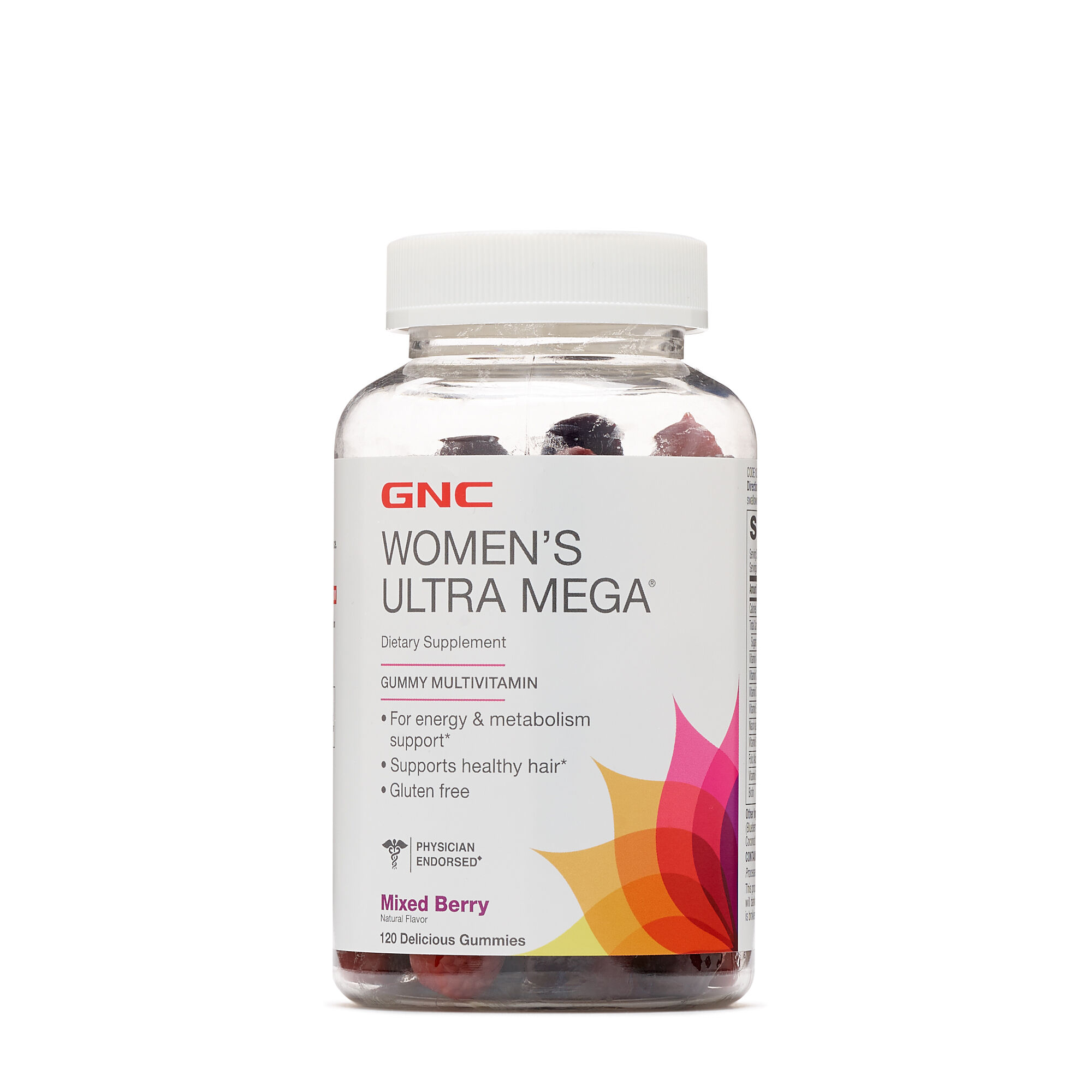 Best Womens Multivitamin >> Gnc Women S Ultra Mega Gummy Multivitamin Mixed Berry