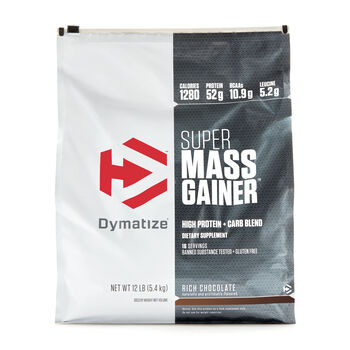 Super Mass Gainer - Rich ChocolateRich Chocolate | GNC