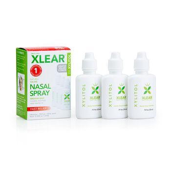 Xlear® Nasal Spray Value Pack | GNC