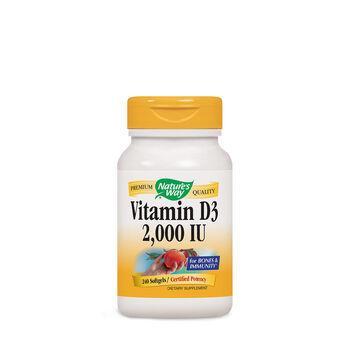 Vitamin D3 2,000 IU | GNC