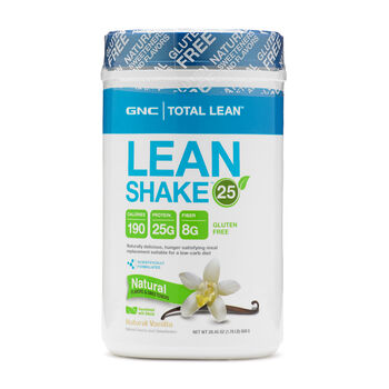 Lean Shake™ 25 Natural - VanillaNatural Vanilla | GNC