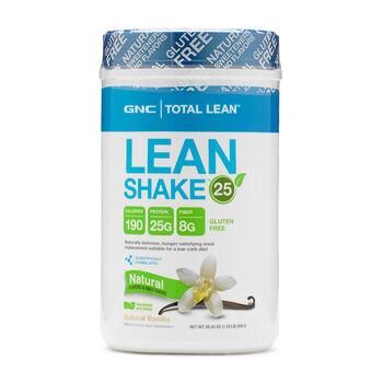 Lean Shake™ 25 Natural - VanillaNatural Vanilla | GNC