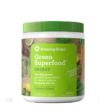 Green SuperFood® - Lemon-Lime Energy | GNC